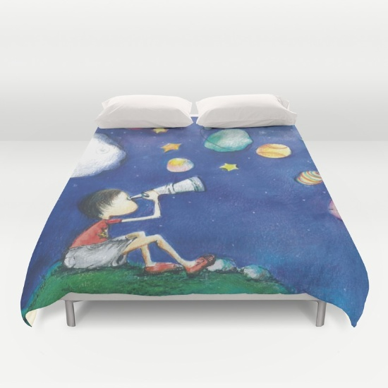 stars-and-little-planets-duvet-covers