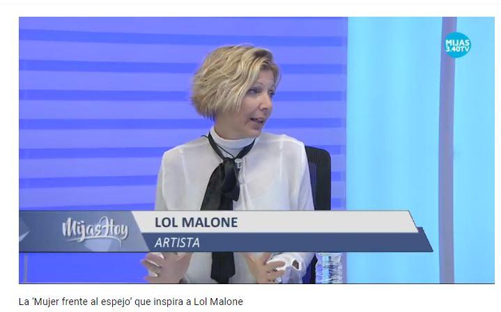 La mujer frente al espejo que inspira a Lol Malone MIJAS HOY Video entrevista