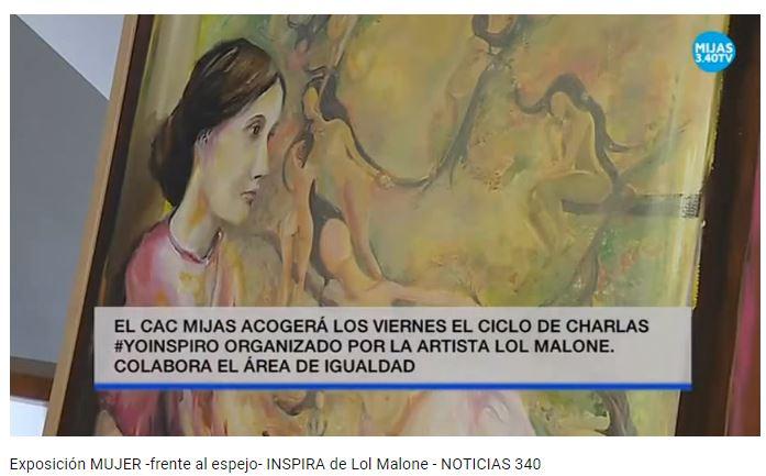 Noticias 3.40 Inauguración y Ciclo de Charlas de la artista Lol Malone